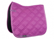 HKM BOLOGNA GREAT VALUE SADDLE CLOTH - BLACKBERRY  - RRP £18.95